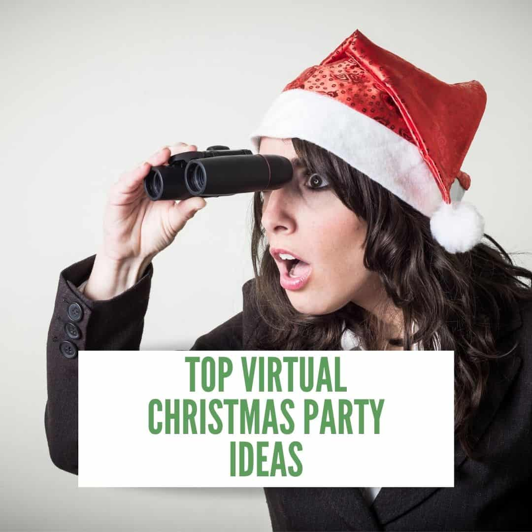 Top Virtual Christmas Party Ideas Remote Christmas Party Team Tactics
