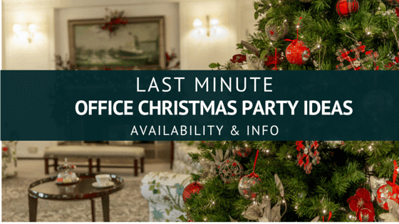 Blog Struggling For Last Minute Office Christmas Party Ideas